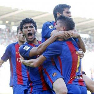 Barça B Racing de Santander Sardinero FC BARCELONA