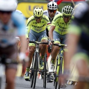 Alberto Contador caiguda Tour França Efe