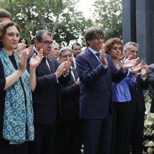 Puigdemont Colau Victimes Hipercor  - Sergi A