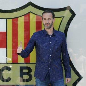 Sito Alonso presentacio Barça basquet   EFE