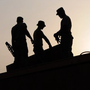 Treballadors Construcció ocupació (Skeeze)