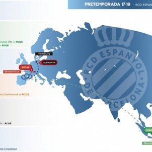 RCD Espanyol pretemporada 2017:18