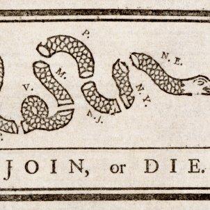 Benjamin Franklin   Join or Die 2