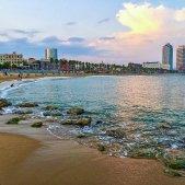 barcelona platja Pixabay