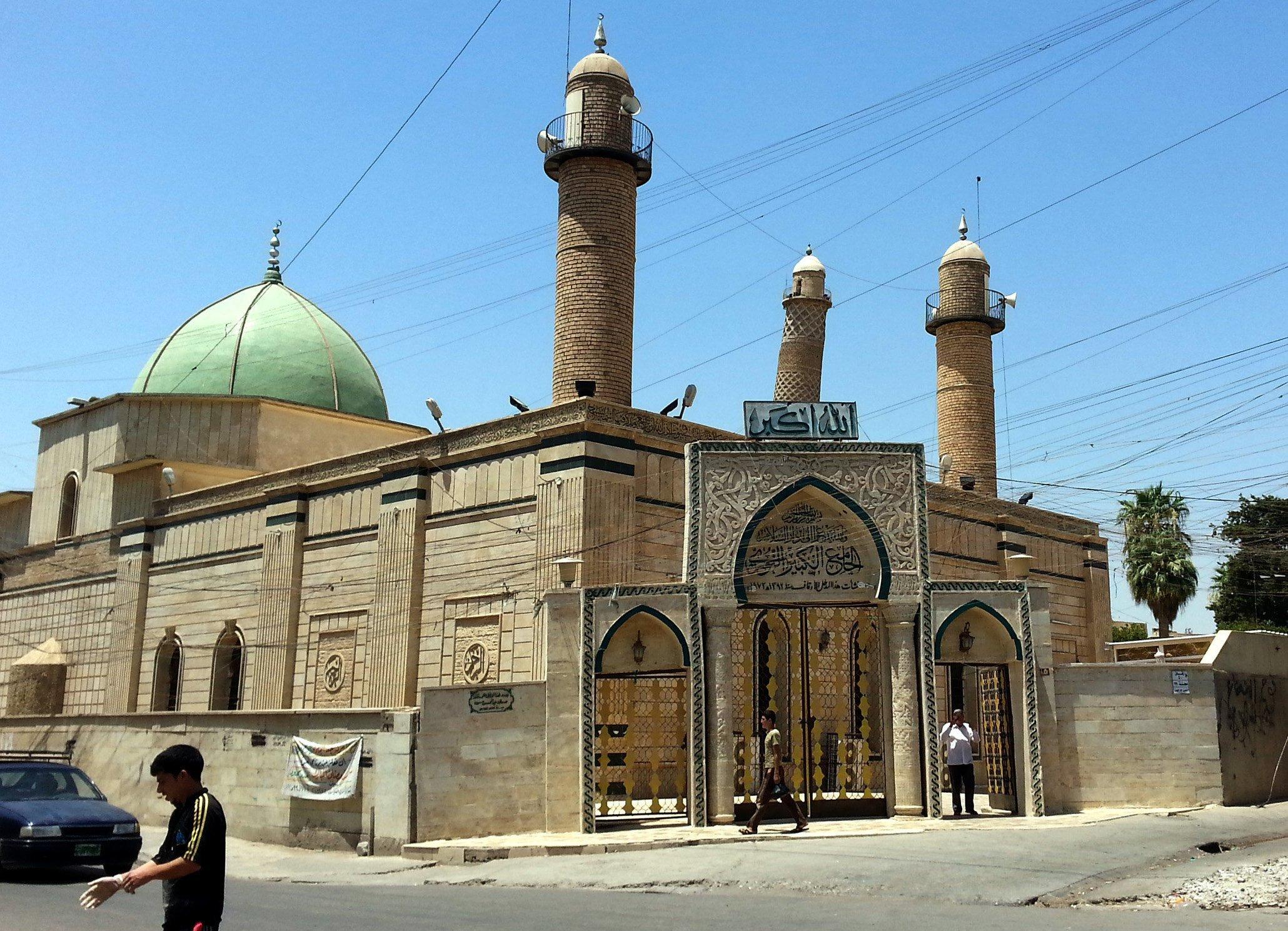 mesquita irak alnuri EFE