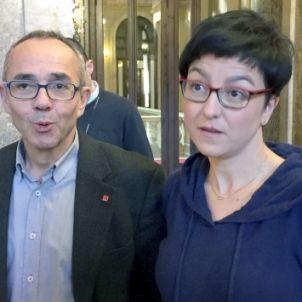 Joan Coscubiela i Eva Granados, junts al Parlament/QS