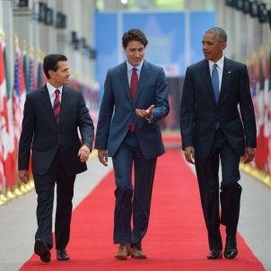 Barack Obama Justin Trudeau Enrique Pena Nieto Ottawa 00806292016