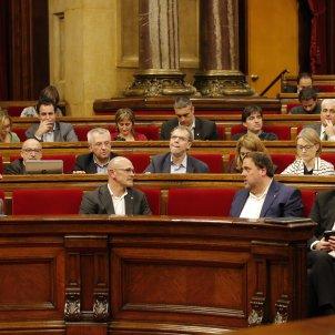 Govern Junts Pel Si Puigdemont Junqueras Romeva Parlament - Sergi Alcàzar