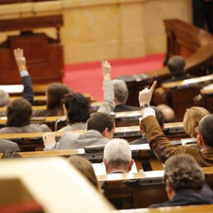 Oposició votacions Parlament Hemicicle - Sergi Alcàzar