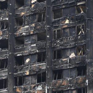Vista de la torre Grenfell a Londres / EFE