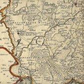 Mapa de la ciutat i colònia de Nova Barcelona. 1740 wikimedia commons