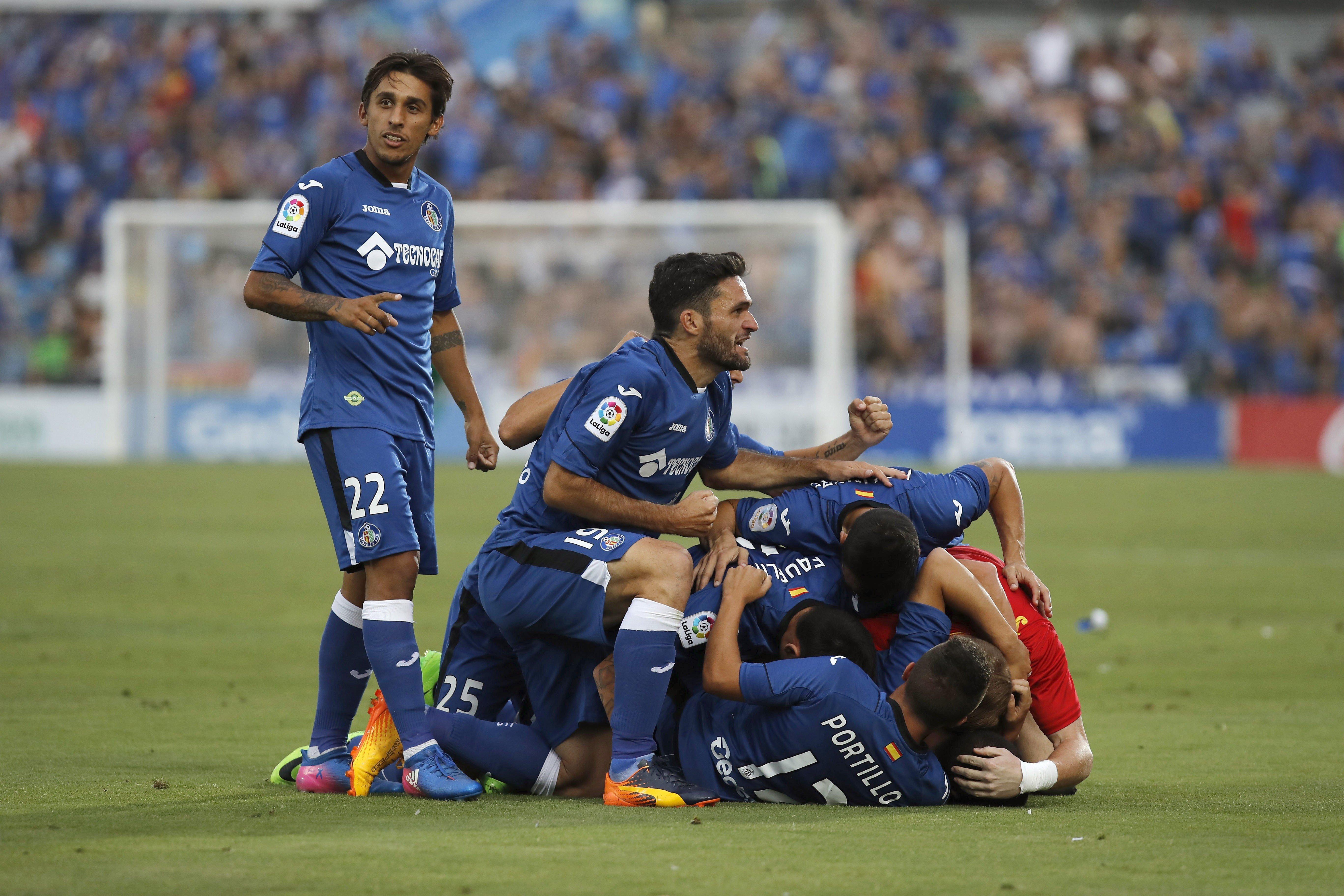 Getafe Play off ascens Primera EFE