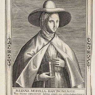 Juliana Morell. Gravat de l'època. Font Viquipèdia