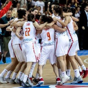 Espanya celebracio eurobasket frança   EFE