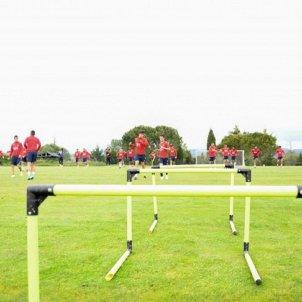 Pretemporada entrenament Girona FC