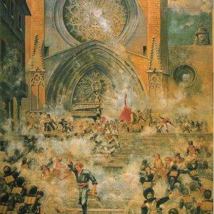 Massacre al Pla de la Seu. Font Biblioteca Pública de Tarragona