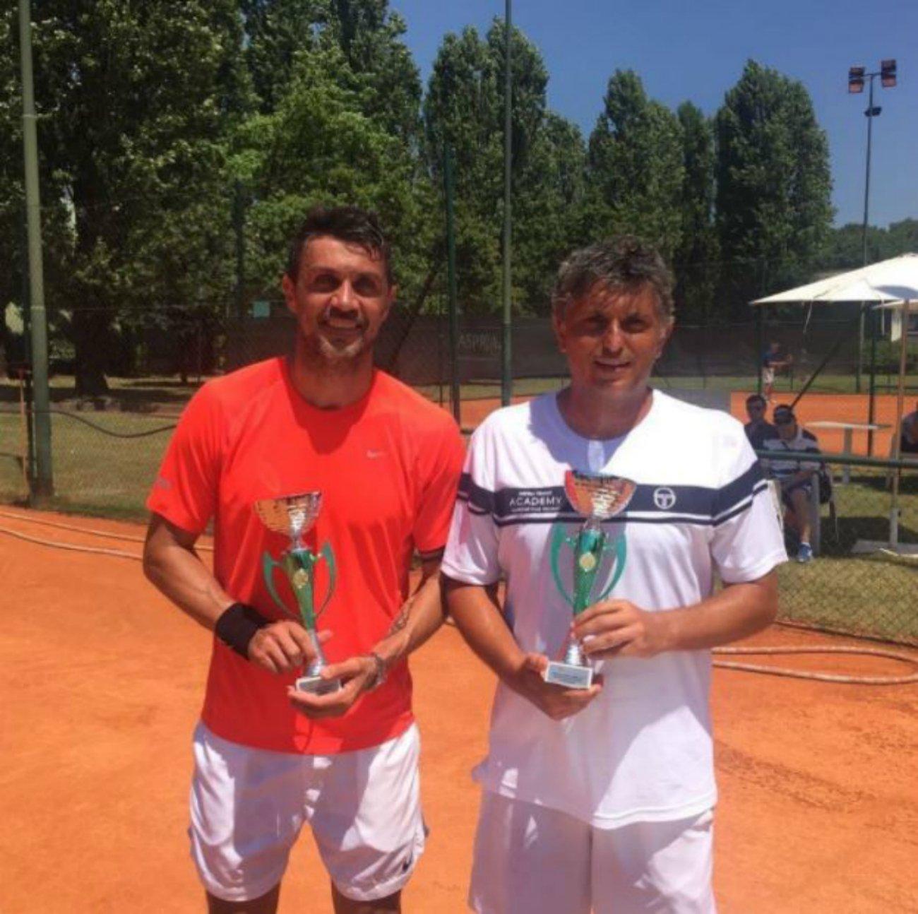 Paolo Maldini tennis   Paolomaldini
