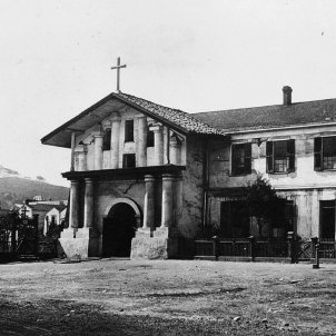 Francesc Palou funda San Francisco de California. Missió San Francisco. Font Viquipèdia