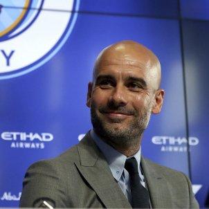 Guardiola Manchester City presentació EFE