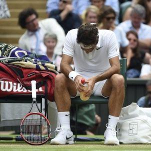 Federer Raonic Wimbledon EFE