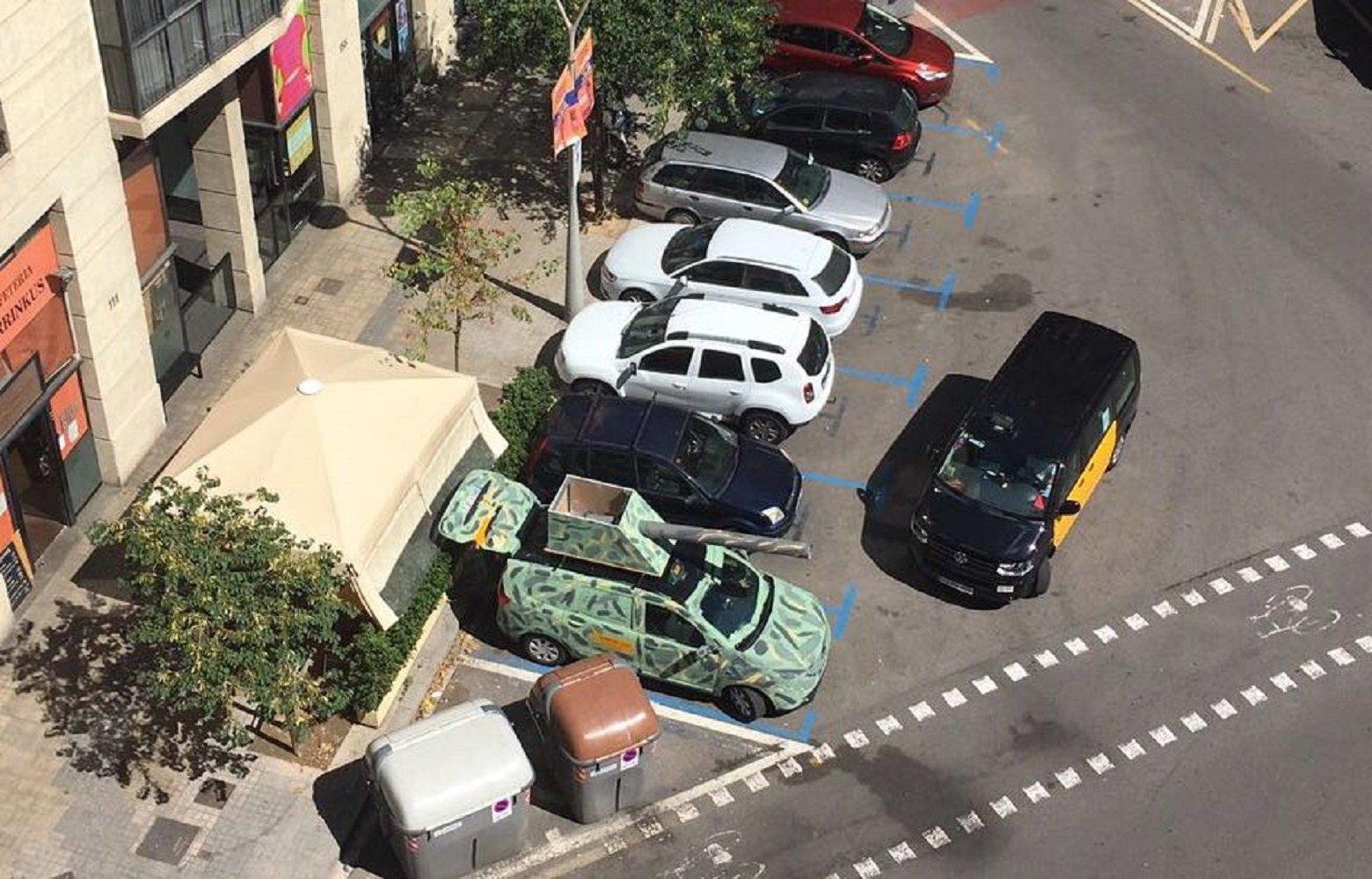 taxi vaga pintat