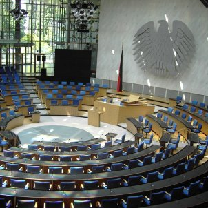Bundestag o Parlamento alemán / Wikimedia