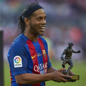 Ronaldinho Camp Nou Barça Manchester   EFE