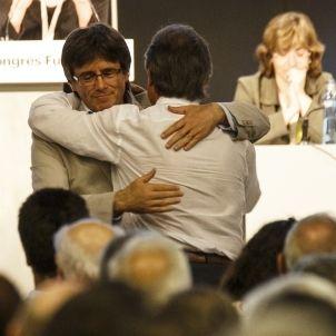 Puigdemont Mas Congres Fundacional Partit Democrata Catala - Sergi Alcazar