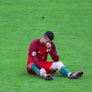 Cristiano Ronaldo lesio Portugal EFE