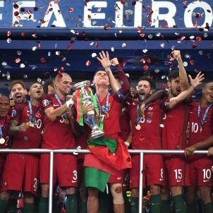 Cristiano Eurocopa Portugal EFE
