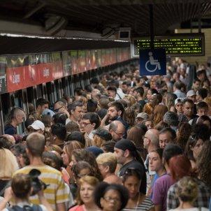 Vaga Metro Barcelona 03 Juliol