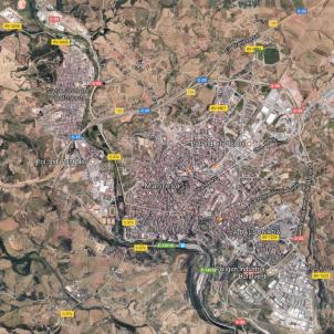 Pallisa a Manresa / Google Maps
