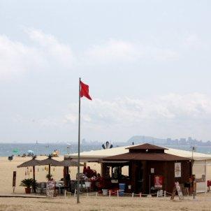 platja bandera vermella ACN