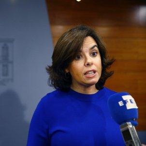 Soraya Sáenz de Santamaría - EFE