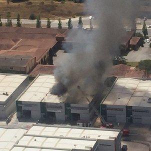 incendi fàbrica cervello bombers