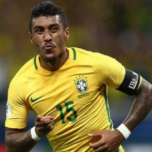 Paulinho Brasil gol   EFE