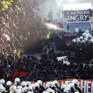 Hamburg protestes G-20 - EFE