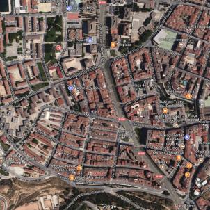 Barri de la Marola, a Lleida / Google Maps
