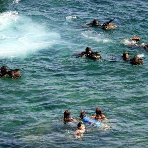 exercici militar escala ACN