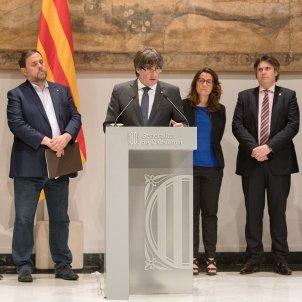 20170707 Reunió de tributs presidida per Puigdemont i Junqueres