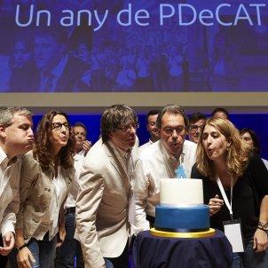 PDeCAT Puigdemont Mas Pascal - EFE