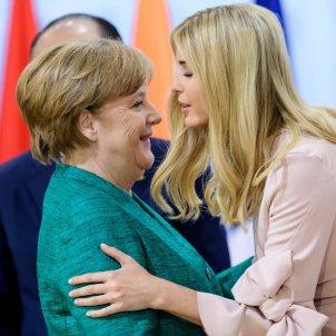 Ivanka Trump Merkel - EFE