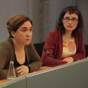 Ada Colau i Mercedes Vidal / ACN