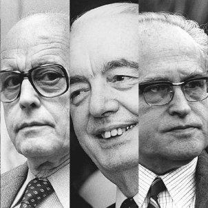 Els cinc prohoms fundadors. Font Omnium Cultural