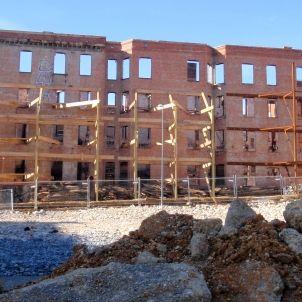 Vivenda en construcció (Foto de Daniel Lobo)