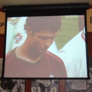 Cristiano Ronaldo plora (Foto de Ben Shuterland)