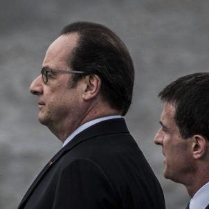 Hollande - Valls - Efe