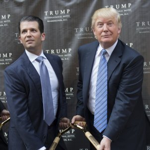 Trump i Trump Jr. EFE