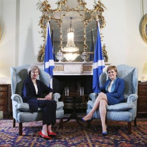 Sturgeon May - EFE
