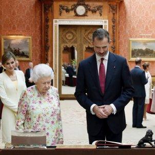 Rei Felip VI Reina Isabel II - EFE